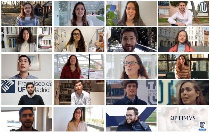optimus ufv 20 Muestra tu apoyo a los candidatos al Premio Optimus 2020