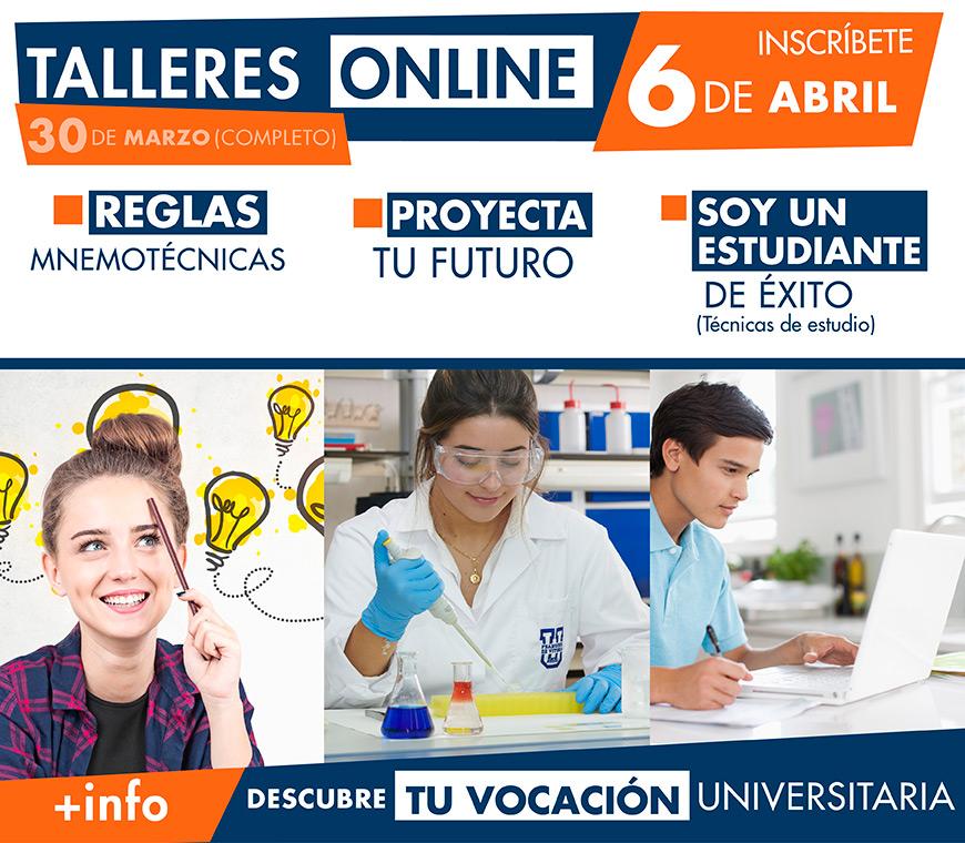 talleres online orientacion UFV Orientación universitaria