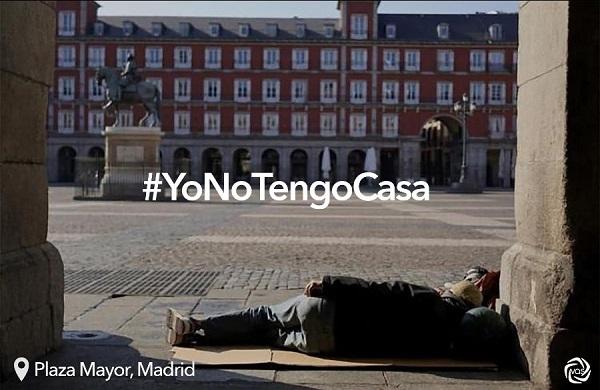 yo no tengo casa ¿Y qué pasa con las personas sin hogar? El VAS lanza #YoNoTengoCasa Estudiar en Universidad Privada Madrid