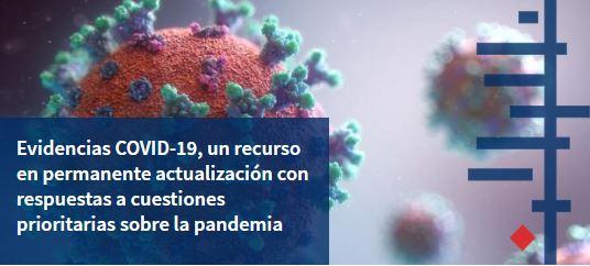 Evidencias Covid 19 La UFV, a través de Cochrane Madrid, difunde conocimiento sobre la pandemia del coronavirus SARS CoV 2 y COVID 19 Estudiar en Universidad Privada Madrid