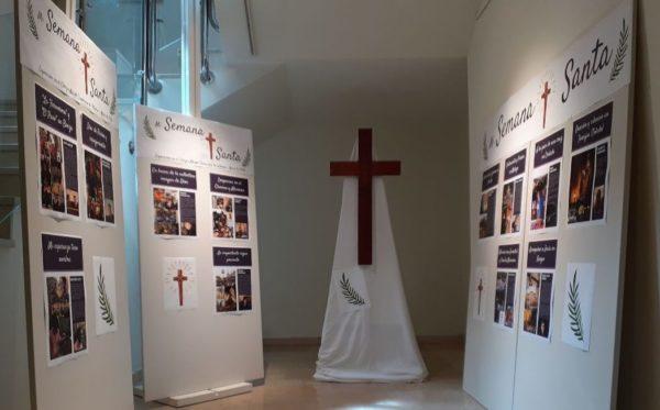 cm francisco vitoria semana santa e1586941881249 ¡Feliz Pascua de Resurrección! Así vivió el Colegio Mayor Francisco de Vitoria esta Semana Santa tan especial