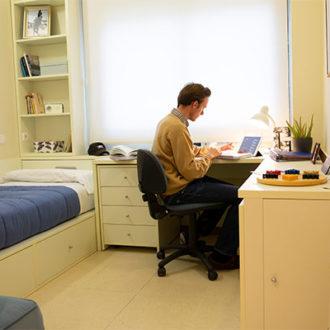 colegio mayor habitaciones 01 330x330 Instalaciones Estudiar en Universidad Privada Madrid