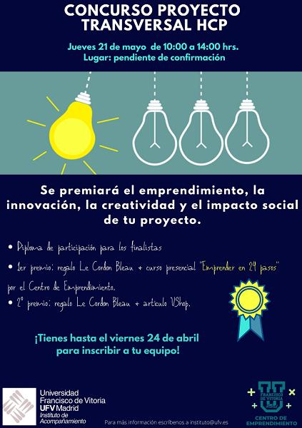 concurso trabajos transversales hcp Concurso Proyecto Transversal HCP: participa con tu trabajo de innovación y con impacto social