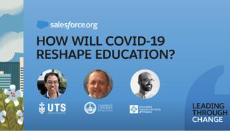 saldana Sergio Saldaña participa en el webinar How will COVID 19 Reshape Education?, organizado por Salesforce