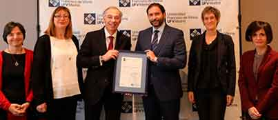 ufv certificacion ISO 45001 2018 SERVICIO DE SEGURIDAD, SALUD Y BIENESTAR Estudiar en Universidad Privada Madrid