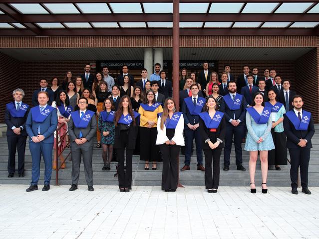 ActoClausura2020CM El Colegio Mayor Francisco de Vitoria celebra su Acto de Clausura 19/20 Estudiar en Universidad Privada Madrid