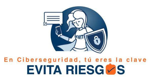 Logo EVITA RIESGOS e1590740564883 En ciberseguridad, tú eres la clave Estudiar en Universidad Privada Madrid