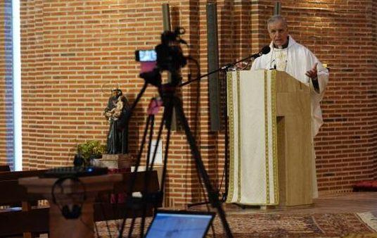 misas abc La UFV colabora con la parroquia de Santa María de Caná en la retransmisión de las misas Estudiar en Universidad Privada Madrid