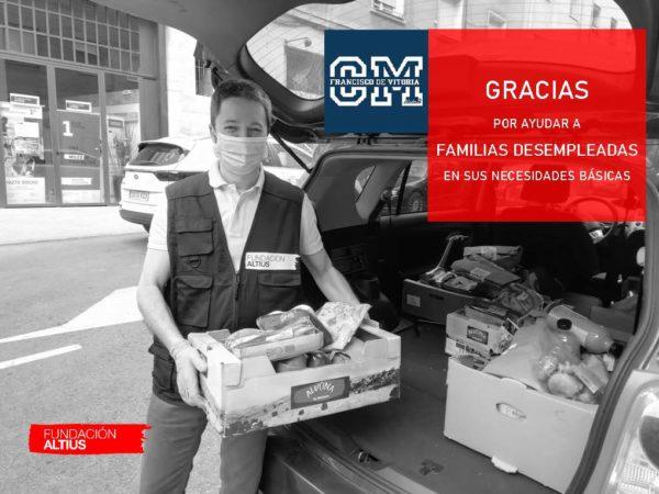 thumbnail GRACIAS CM e1590568126634 El CM Francisco de Vitoria dona su fondo social colegial de este curso a Altius Estudiar en Universidad Privada Madrid
