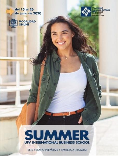 %name UFV Summer Business Online dirigido por la escuela de negocios de la UFV Estudiar en Universidad Privada Madrid
