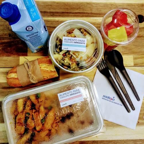 take away sodexo Sodexo lanza un menú para llevar sostenible Estudiar en Universidad Privada Madrid
