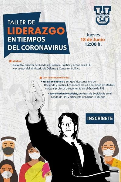 taller liderazgo ufv Taller de liderazgo en tiempos de Coronavirus con Óscar Elía, director del Grado en FPE