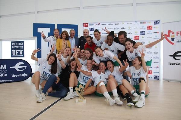 Equipo Baloncesto UFV La Universidad Francisco de Vitoria renueva su patrocinio con el primer equipo femenino del Club Baloncesto Pozuelo Estudiar en Universidad Privada Madrid