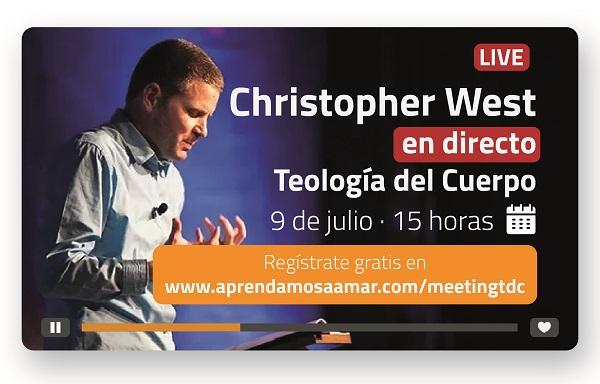 """WEST La Universidad Francisco de Vitoria organiza """"The Power of Sexual Education"""", ciclo de conferencias online gratuitas con Christopher West en directo Estudiar en Universidad Privada Madrid"""