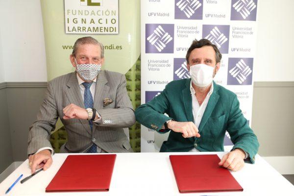 larramendi e1595398194144 La UFV firma un convenio con la Fundación Ignacio Larramendi Estudiar en Universidad Privada Madrid