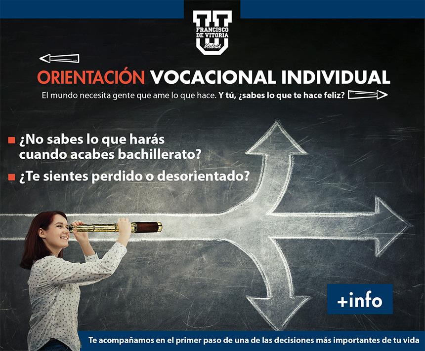 orientacion vocacional individualizada ufv Orientación universitaria