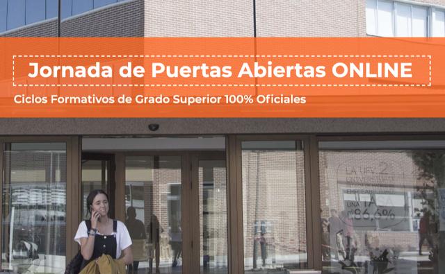 %name Jornada de Puertas Abiertas online CETYS Estudiar en Universidad Privada Madrid