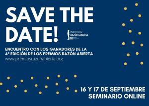 %name Seminario Online con los ganadores de la Cuarta edición de los Premios Razón Abierta Estudiar en Universidad Privada Madrid