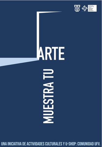 %name Participa en 'Muestra tu arte', la iniciativa de Actividades Culturales para exponer el talento de la Comunidad UFV Estudiar en Universidad Privada Madrid