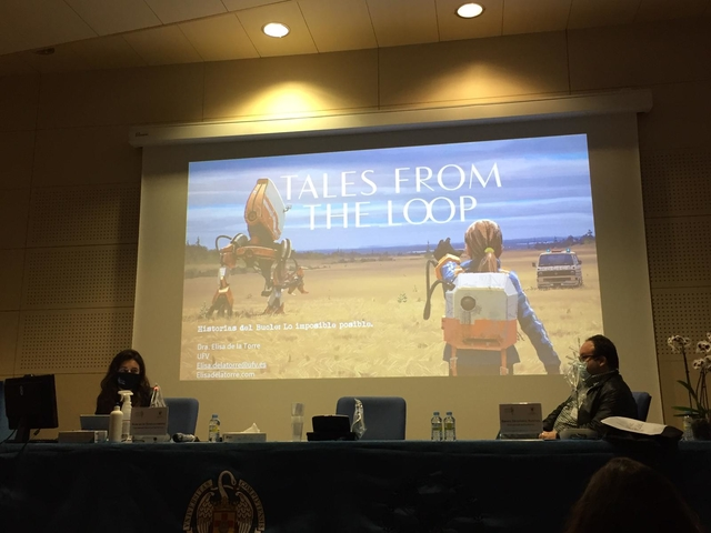 Elisa mito Elisa de la Torre participa en el VI Congreso Internacional de Mitocrítica Mito y Ciencia Ficción Estudiar en Universidad Privada Madrid