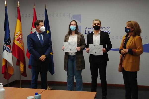 beca las rozas ufv Dos alumnos de Las Rozas reciben una beca de excelencia de la UFV Estudiar en Universidad Privada Madrid
