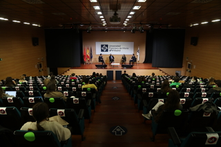 enrique lopez ufv2 Enrique López, consejero de Justicia e Interior de la Comunidad de Madrid, visita la UFV en el marco de las conferencias de la Sociedad de Estudios Políticos Estudiar en Universidad Privada Madrid