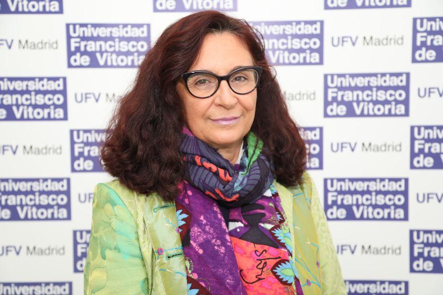 %name Gloria Saló analiza 'El auge de las plataformas globales y el impacto de la pandemia' Estudiar en Universidad Privada Madrid