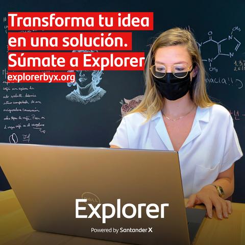 %name El Centro de Emprendimiento de la UFV se suma a 'Explorer', una iniciativa gratuita del Banco Santander para formar a jóvenes emprendedores Estudiar en Universidad Privada Madrid