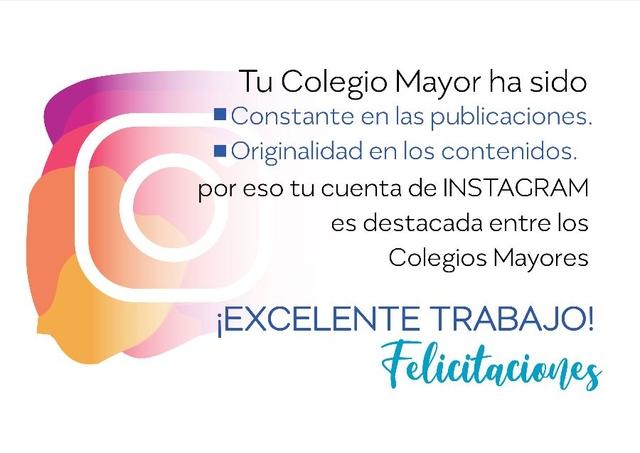 %name La Asociación de Colegios Mayores de Madrid elogia la labor en redes sociales del CM Francisco de Vitoria Estudiar en Universidad Privada Madrid