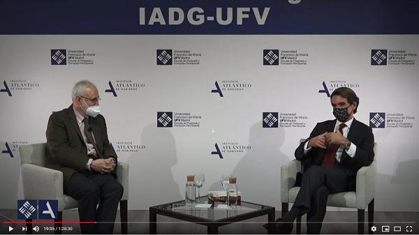 Aznar actualidad UFV Estudiar en Universidad Privada Madrid