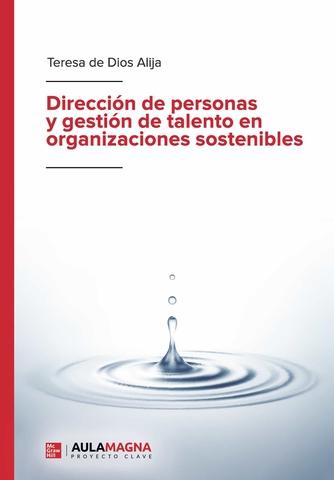%name Teresa De Dios Alija, docente UFV, publica 'Dirección de personas y gestión del talento en organizaciones sostenibles' Estudiar en Universidad Privada Madrid