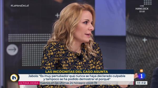 Marta de Prado UFV Marta de Prado, profesora UFV, desarrolla el Caso Asunta en La hora de La 1 Estudiar en Universidad Privada Madrid