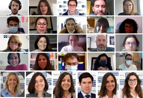 delegados Departamento de Comunicación y Relaciones Externas Estudiar en Universidad Privada Madrid