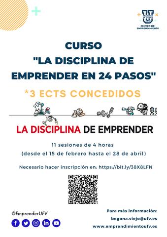 %name Participa en 'La disciplina de Emprender en 24 pasos', el curso basado en la metodología del MIT Estudiar en Universidad Privada Madrid
