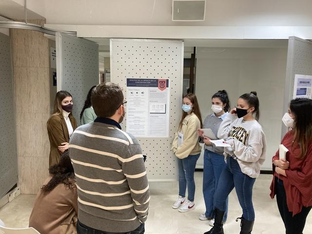 %name El Grado en Psicología organizó un congreso simulado para fomentar la investigación entre sus alumnos Estudiar en Universidad Privada Madrid
