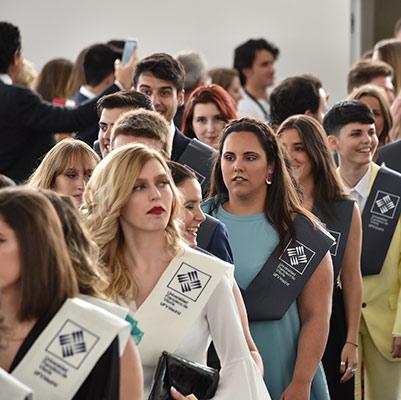 comunicacion graduacion 19 18 09 Actos académicos curso 2018/2019 Estudiar en Universidad Privada Madrid