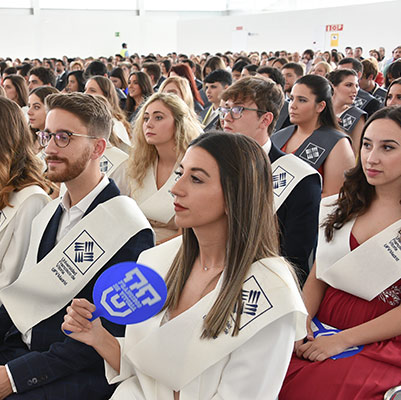 comunicacion graduacion 19 18 10 Actos académicos curso 2018/2019 Estudiar en Universidad Privada Madrid
