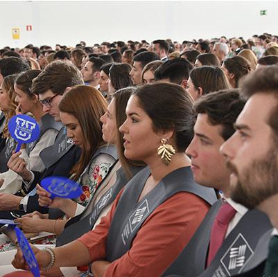 comunicacion graduacion 19 18 12 Actos académicos curso 2018/2019 Estudiar en Universidad Privada Madrid