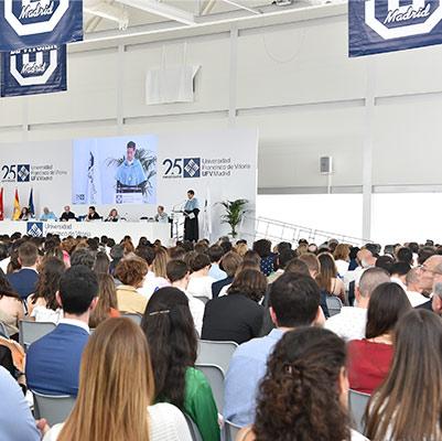 comunicacion graduacion 19 18 13 Actos académicos curso 2018/2019 Estudiar en Universidad Privada Madrid