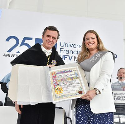 comunicacion graduacion 19 18 14 Actos académicos curso 2018/2019 Estudiar en Universidad Privada Madrid