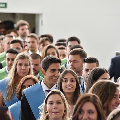educacion graduacion 19 18 08 Actos académicos curso 2018/2019 Estudiar en Universidad Privada Madrid