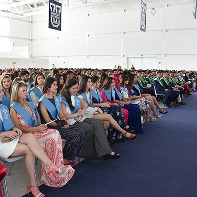 educacion graduacion 19 18 10 Actos académicos curso 2018/2019 Estudiar en Universidad Privada Madrid