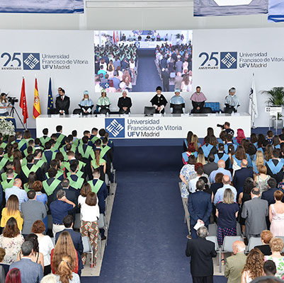 educacion graduacion 19 18 11 Actos académicos curso 2018/2019 Estudiar en Universidad Privada Madrid