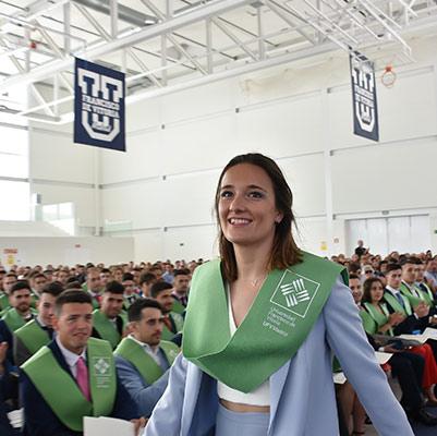 educacion graduacion 19 18 13 Actos académicos curso 2018/2019 Estudiar en Universidad Privada Madrid