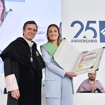 educacion graduacion 19 18 14 Actos académicos curso 2018/2019 Estudiar en Universidad Privada Madrid