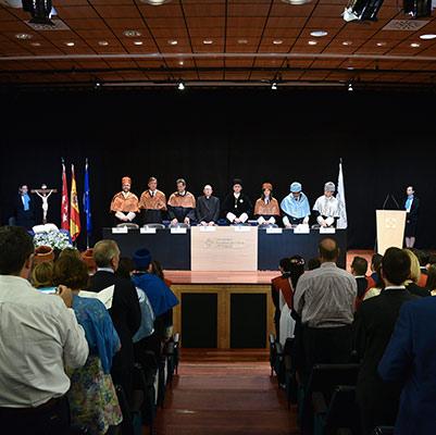 escuela politecnica graduacion 19 18 08 Actos académicos curso 2018/2019 Estudiar en Universidad Privada Madrid