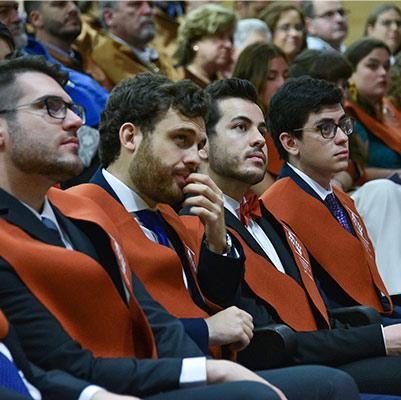 escuela politecnica graduacion 19 18 09 Actos académicos curso 2018/2019 Estudiar en Universidad Privada Madrid