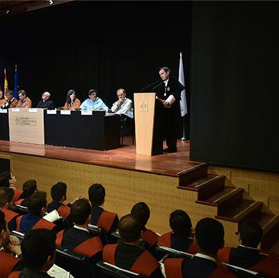 escuela politecnica graduacion 19 18 12 Actos académicos curso 2018/2019 Estudiar en Universidad Privada Madrid