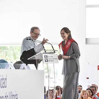 facultad ciencias juridicas graduacion 19 18 07 Actos académicos curso 2018/2019 Estudiar en Universidad Privada Madrid