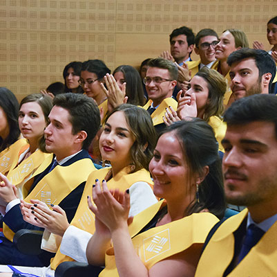 medicina graduacion 19 18 09 Actos académicos curso 2018/2019 Estudiar en Universidad Privada Madrid